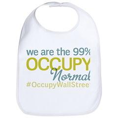 Occupy Normal Bib