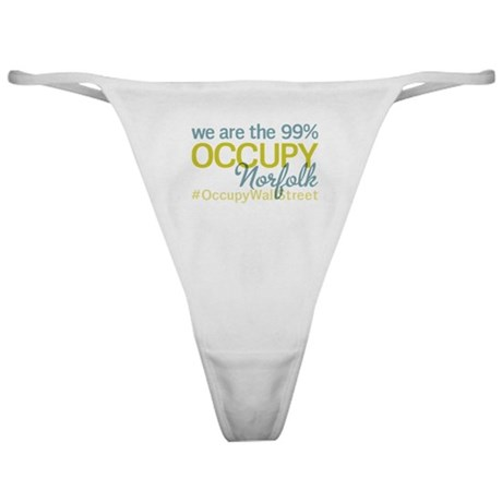 Occupy Norfolk Classic Thong