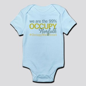 Occupy Norfolk Infant Bodysuit