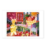 Musica en el jardin Postcards (Package of 8)
