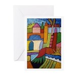 Here and There Greeting Cards (Pk of 10)