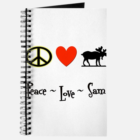 Peace - Love - Sam Journal