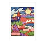 Sunny Village Postcards (Package of 8)
