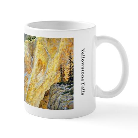 Yellowstone Falls Mug