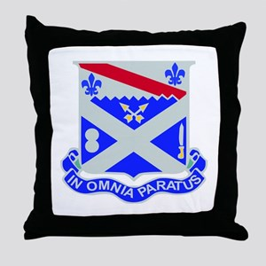 DUI - 1st Bn - 18th Infantry Regt Throw Pillow