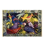 Happy Birds Postcards (Package of 8)