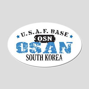 Osan Air Force Base 22x14 Oval Wall Peel