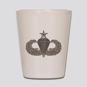 Sr. Parachutist Shot Glass