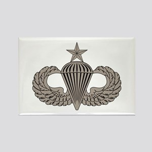 Sr. Parachutist Rectangle Magnet