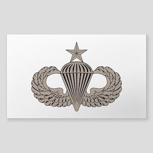 Sr. Parachutist Sticker (Rectangle)