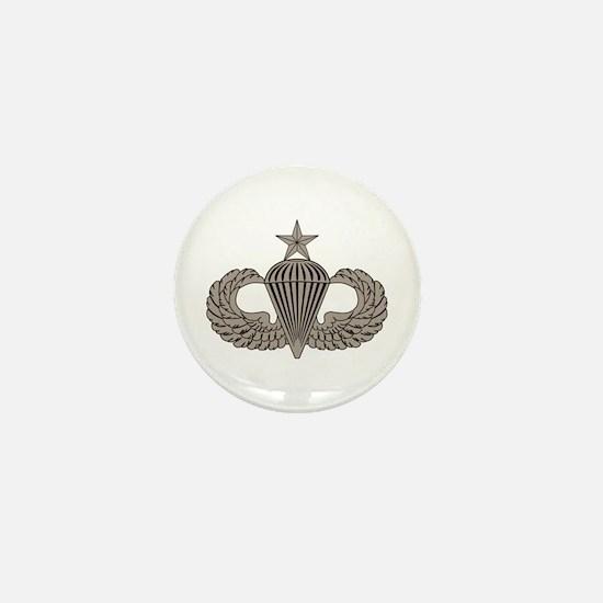 Sr. Parachutist Mini Button