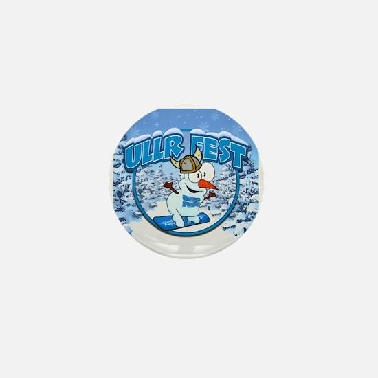 UllrFest Snowboarder Mini Button