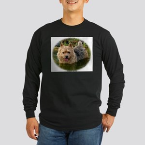 Norwich Terrier 9Y235D-087 Long Sleeve Dark T-Shir