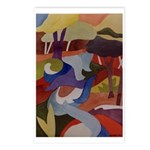 Chicago Creek Abstract Postcards (Package of 8)