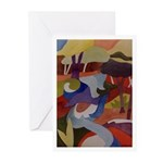 Chicago Creek Abstract Greeting Cards (Pk of 10)
