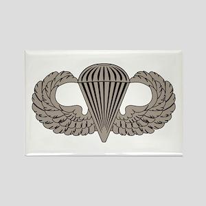 Parachutist Rectangle Magnet