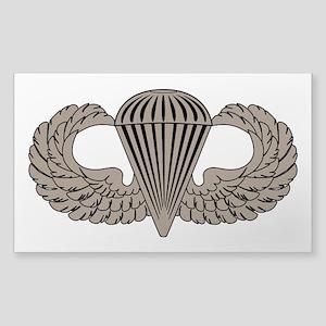 Parachutist Sticker (Rectangle)