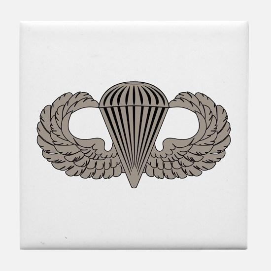 Parachutist Tile Coaster