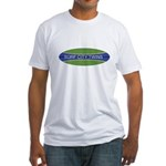 Surf City Twins Fitted T-Shirt