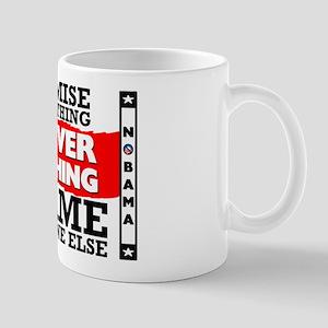"""""""Obama: Deliver Nothing"""" Mug"""
