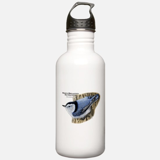 White-Breasted Nuthatch Water Bottle