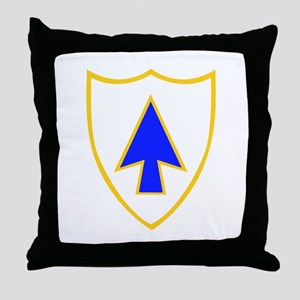 DUI - 1st Bn - 26th Infantry Regt Throw Pillow