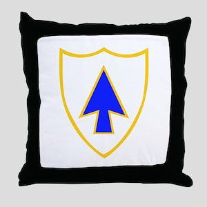 DUI - 1st Bn - 26th Infantry Regt Throw Pillow