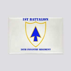 DUI - 1st Bn - 26th Infantry Regt with Text Rectan