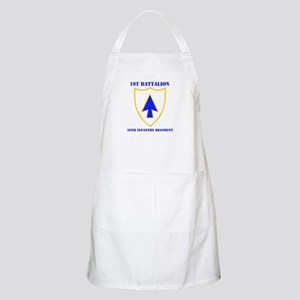 DUI - 1st Bn - 26th Infantry Regt with Text Apron