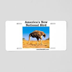 nationalbird Aluminum License Plate