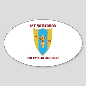 DUI - 1st Sqdrn - 4th Cavalry Regt with Text Stick