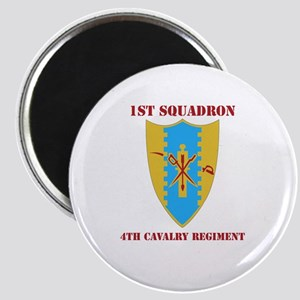 DUI - 1st Sqdrn - 4th Cavalry Regt with Text Magne