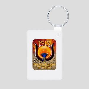 ISIS Logo Aluminum Photo Keychain