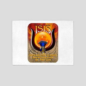 ISIS Logo 5'x7'Area Rug