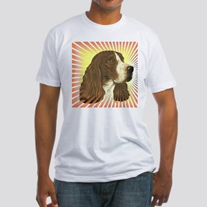 English Springer Spaniel Fitted T-Shirt