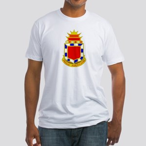 DUI - 2nd Bn - 32nd FA Regt Fitted T-Shirt