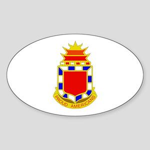 DUI - 2nd Bn - 32nd FA Regt Sticker (Oval)