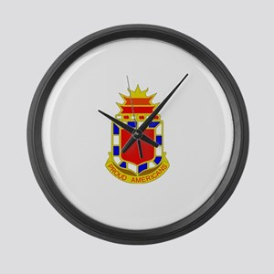 DUI - 2nd Bn - 32nd FA Regt Large Wall Clock