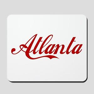 ATLANTA SCRIPT Mousepad