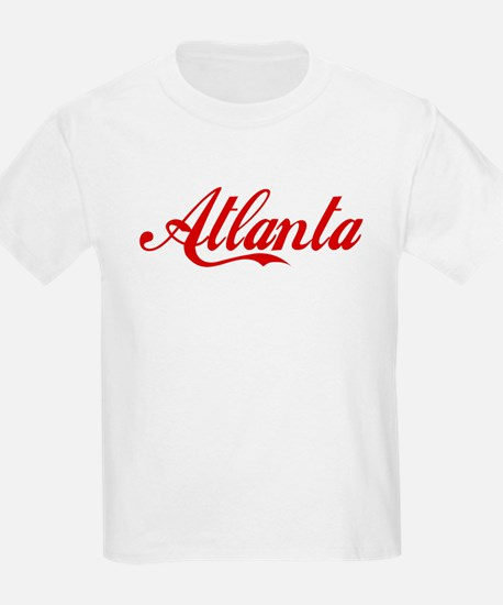 ATLANTA SCRIPT Kids T-Shirt