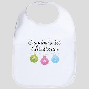 Grandma's 1st Christmas Bib