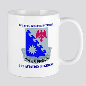 DUI - 1st Atk/Recon Bn - 1st Avn Regt with Text Mu