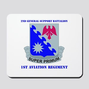 DUI - 2nd GS Bn - 1st Aviation Regt with Text Mous
