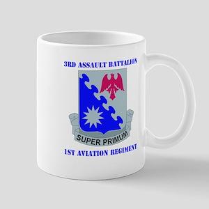 DUI - 3rd Aslt Bn - 1st Aviation Regt with Text Mu