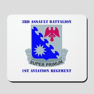 DUI - 3rd Aslt Bn - 1st Aviation Regt with Text Mo