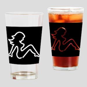 Mudflap Girl Pint Glass