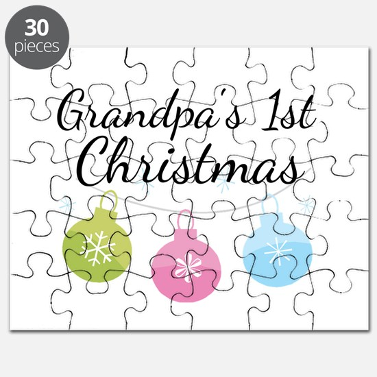 Grandpa's 1st Christmas Puzzle