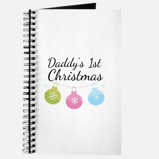 Daddy's 1st Christmas Journal