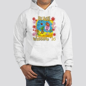 Beach Wedding 16 Hooded Sweatshirt