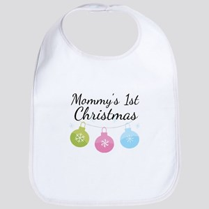 Mommy's 1st Christmas Bib